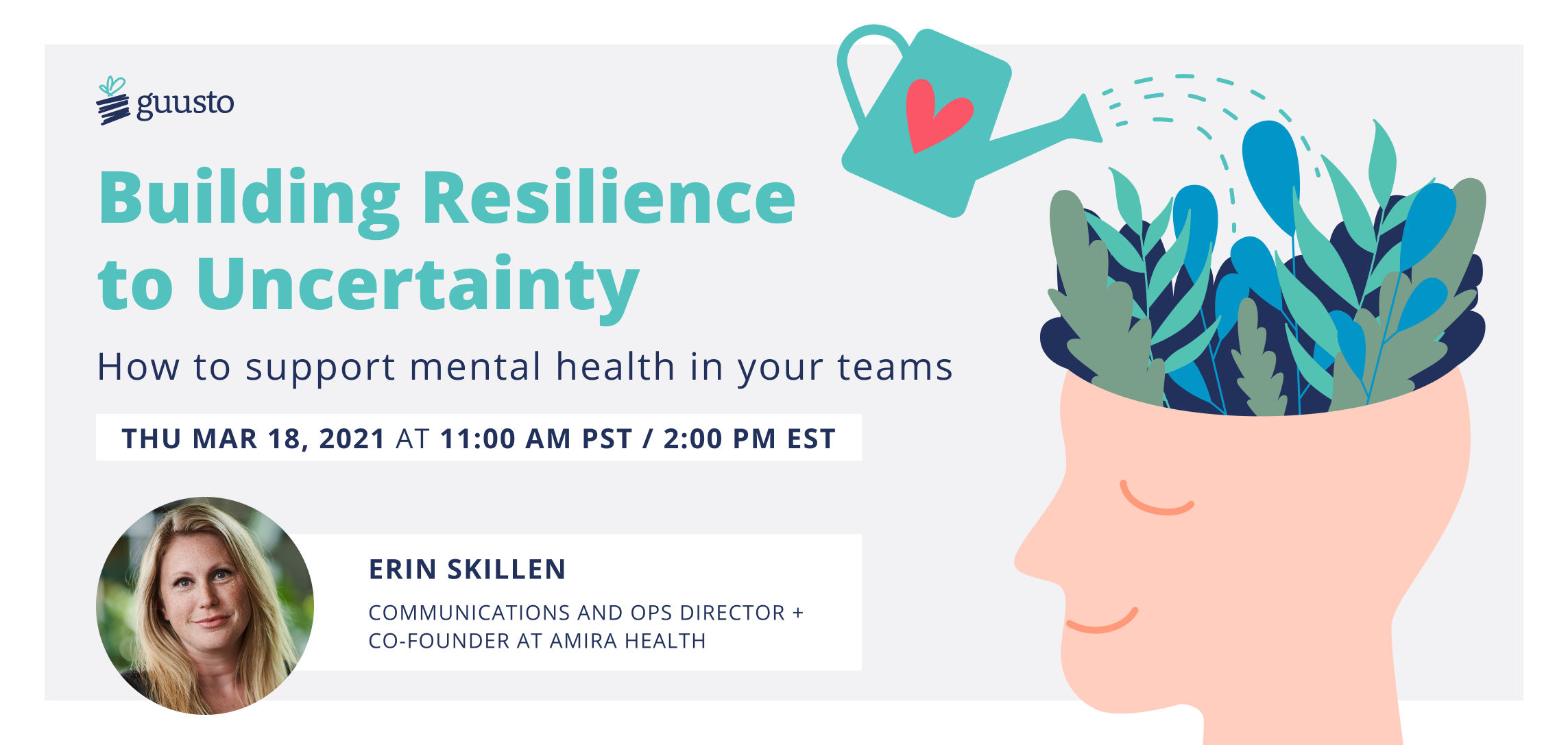 Building Resilience to Uncertainty