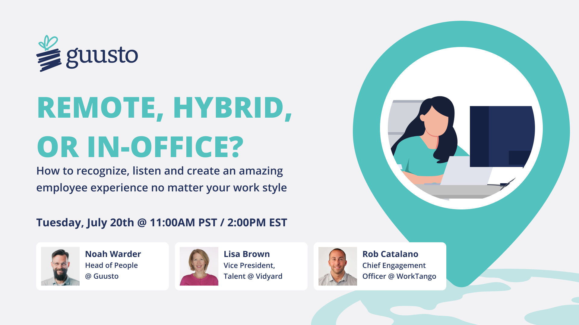 Remote, Hybrid, or In-Office?