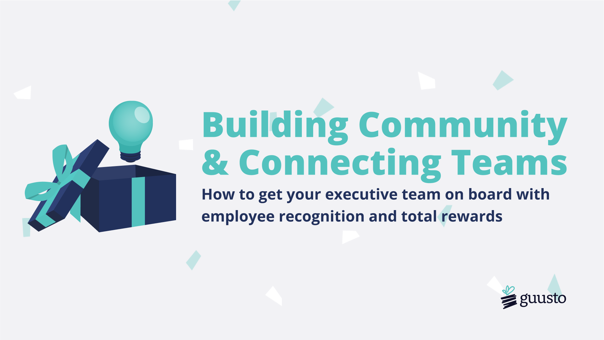 Building Community and Connecting Teams