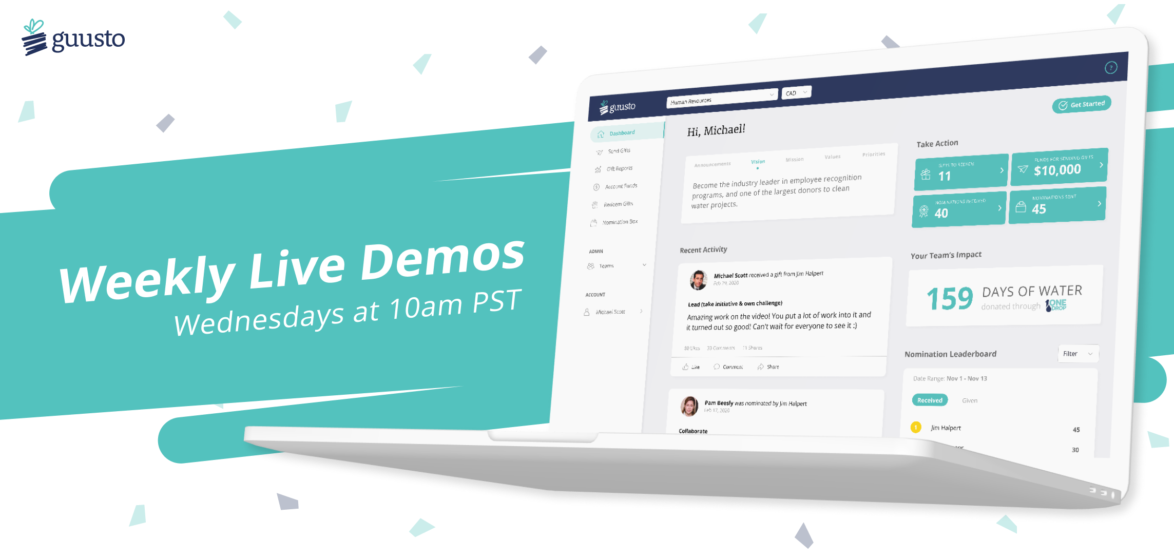 Weekly Product Demos
